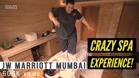 Crazy Spa Experience   JW Marriot Sahar