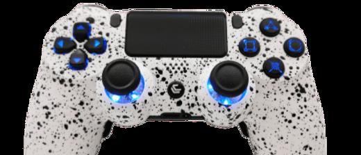 White Splash + | PS4 | CONTROLLER