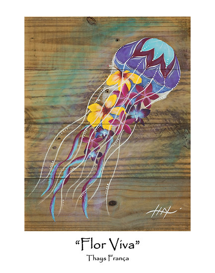 Flor Viva 11x14 Print