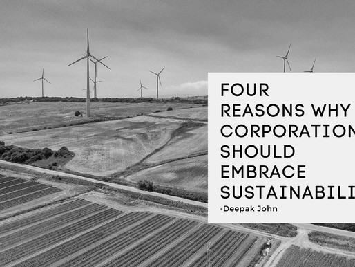 Four reasons why corporations should embrace sustainability