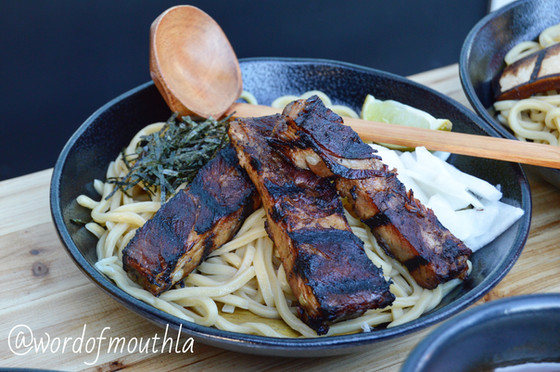 New in LA: Okiboru brings tsukemen to Chinatown.