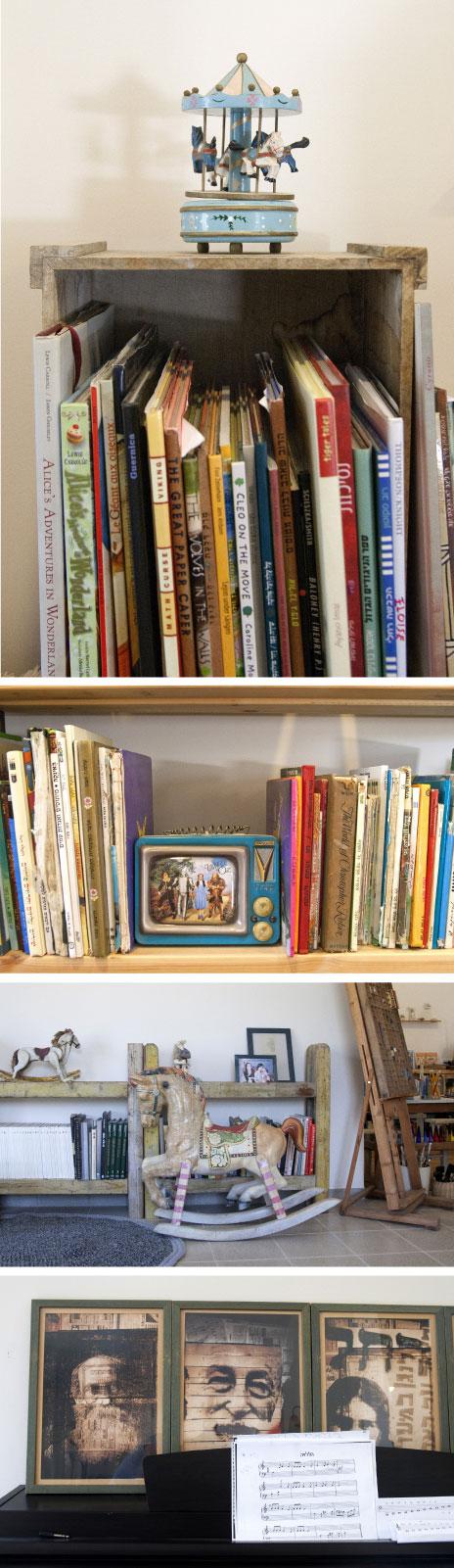 ספרי אומנות, פרוזה, שירה והגות