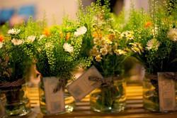 שזירת פרחים ביחד