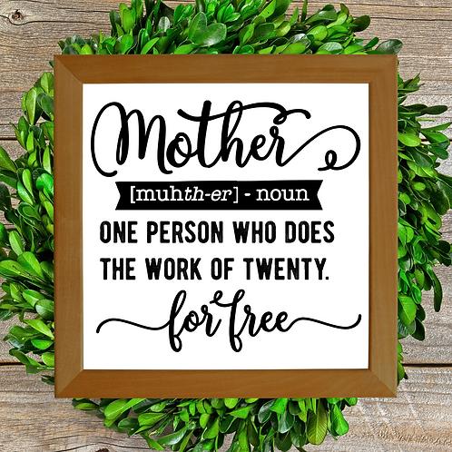 Define Mother