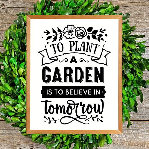 Garden of Tomorrow