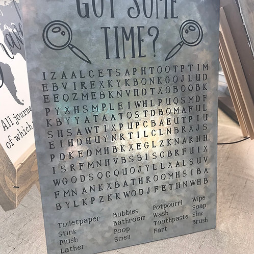 Got Some Time?