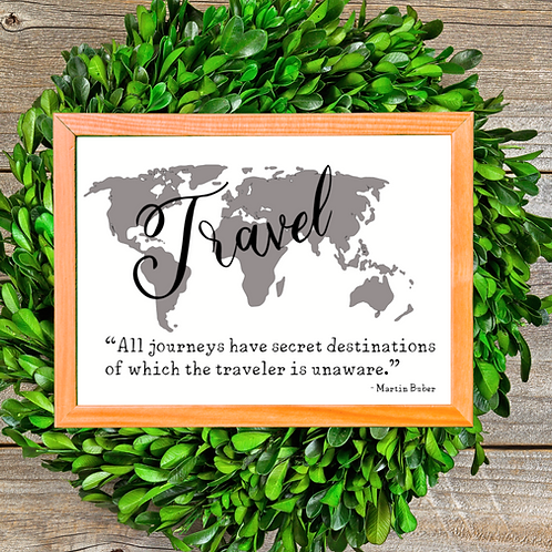 Travel, Farmhouse sign