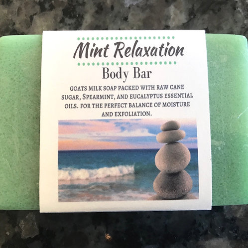 Mint Relaxation Body Bar