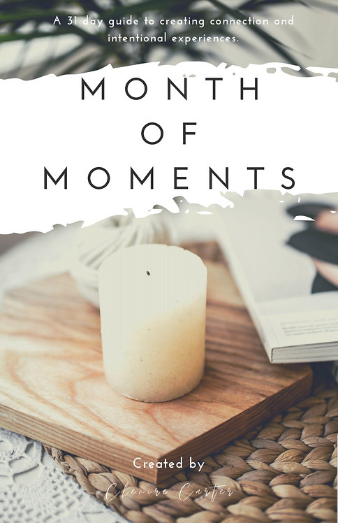 Month of Moments (Download)