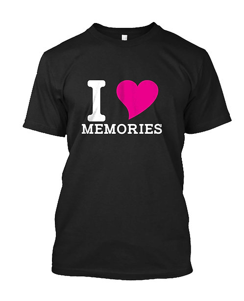 I (Heart) Memories T-Shirt