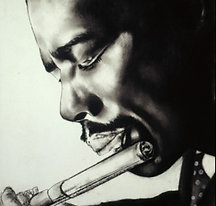 Eric Dolphy on Flute