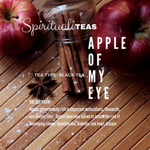 Apple Of My Eye: Black Tea