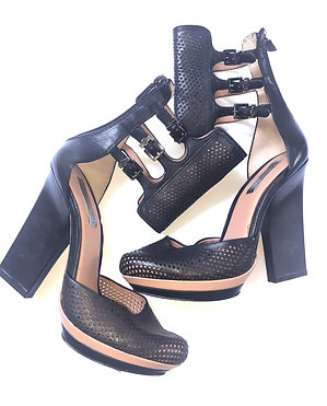 Mesh Platform Shoe