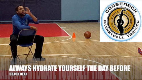 HYDRATE THE DAY BEFORE