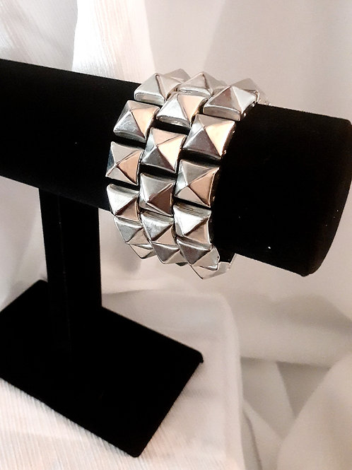 Silver Rocker Bracelet