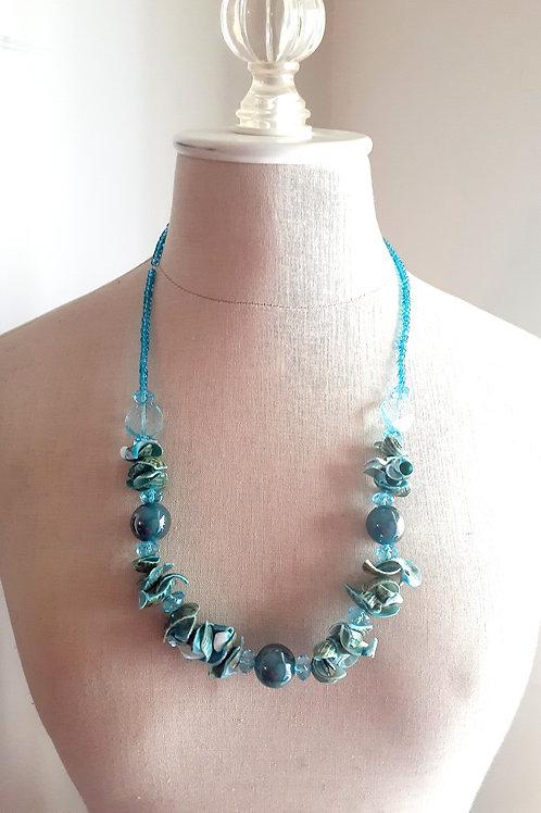 Aqua Blue Necklace