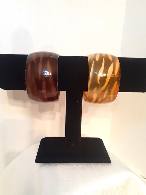 Acrylic Bangle Bracelets