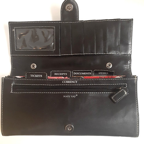 Black Wallet Organizer