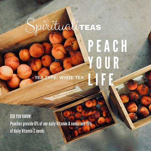 Peach Your Life: White Tea