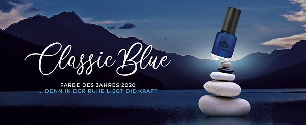 Classic Blue - Farbe des Jahres 2020
