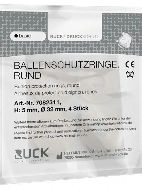 RUCK® DRUCKSCHUTZ basic Ballenschutzringe rund