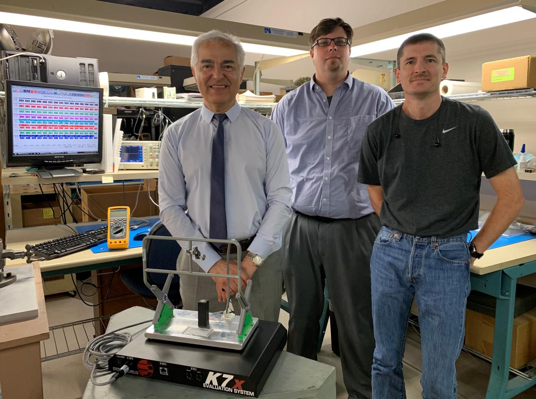 K7x Engineering Team 2019 - Fray Adib, Scott Verzwyvelt, Chris Sunday