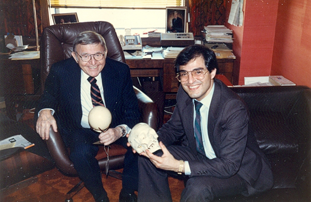 Dr. Bernard Jankelson & Fray Adib, 1983