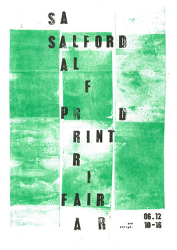 Salford Print Fair poster