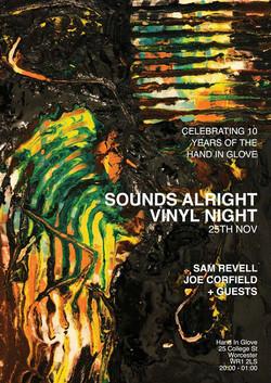 Vinyl night artwork/design