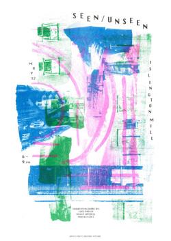 Seen/Unseen artwork/desing