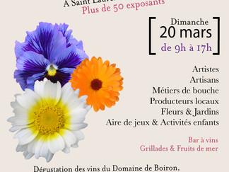 8 mai marché de printemps à St Laurent de la Cabrerisse