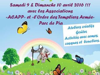 samedi 9 avril fête médievale à Pia (PO)