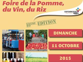 foire de la pomme, du vin et du riz d'Aigues Vives le 11 octobre 2015