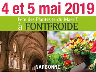 Fête des plantes et du massif de Fontfroide les 4 et 5 mai 2019