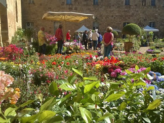fête des plantes de Fontfroide week end du 1er mai