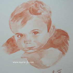 Regard espiègle - Portrait petit garçon