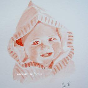 Portrait Baigneur - Bébé