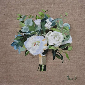 Bouquet Mariée Lin