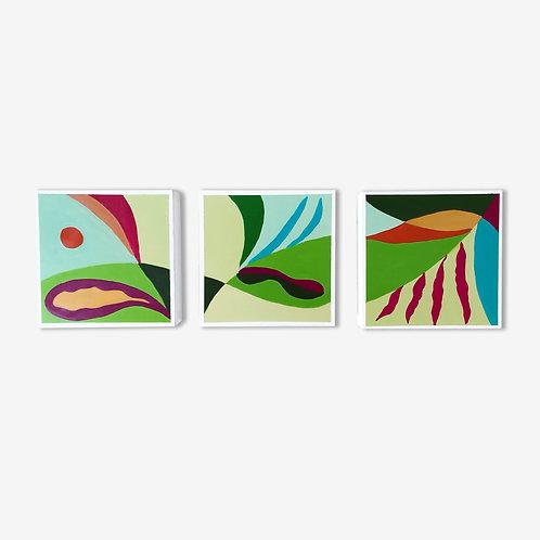 Melon Melodies Triptych