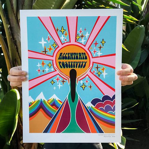 Accentuate Positivity (Print)