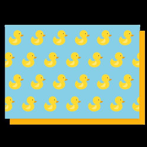 Cartão Patinhos
