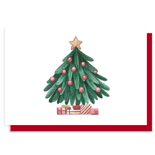 Cartão Árvore Amor