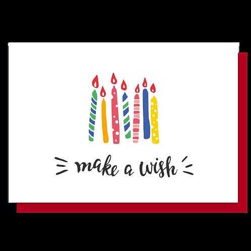 Cartão Make a Wish