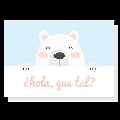 Cartão Hola!