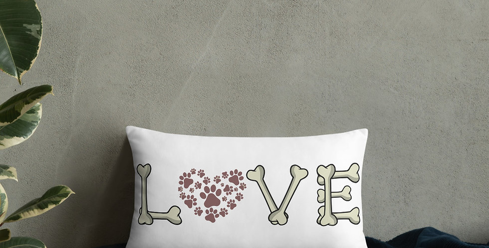 Love Bones Basic Pillow