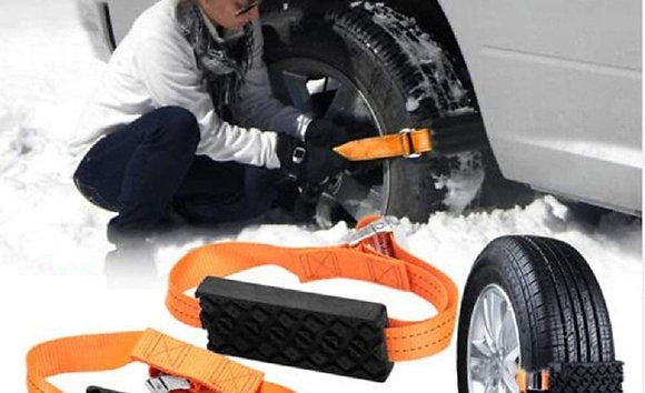 Anti-Skid Snow Chain 4PCS Tyre Chains Anti-Slip Car Belt