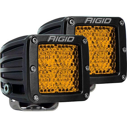 D-series Diffused Rear Facing High/Low SM Amber x 2