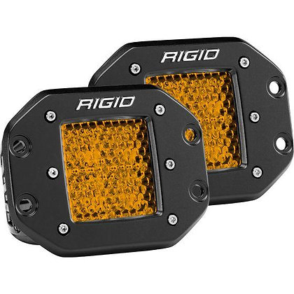 D-series Diffused Rear Facing High/Low FM Amber x 2