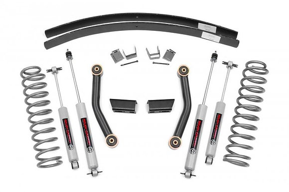 """3"""" Series II Suspension Lift - V2 Monotube - Add-a-Leafs"""