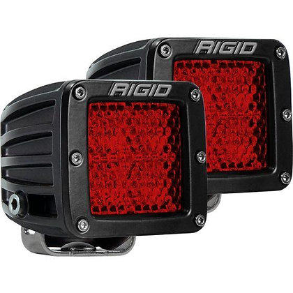 D-series Diffused Rear Facing High/Low SM Red x 2